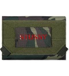 Stussy Olive Camo Field Wallet Picutre