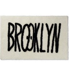 SECOND LAB White Feat Kevin Lyons BROOKLYN RUG Picture