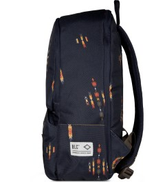 BLC Navy Navajo Print Civitas Backpack Model Picture