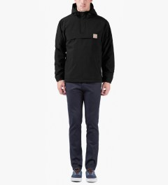 Carhartt WORK IN PROGRESS Black Nimbus Pullover Jacket Model Picutre