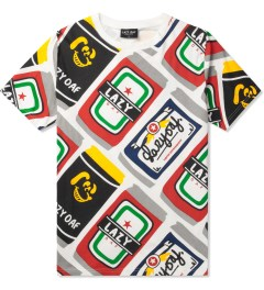 Lazy Oaf Multi Beer Can T-Shirt Picutre