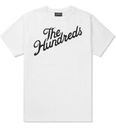The Hundreds White Forever Slant T-Shirt Picutre