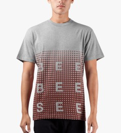 Billionaire Boys Club Heather Grey S/S Spectrum Dot T-Shirt Model Picutre