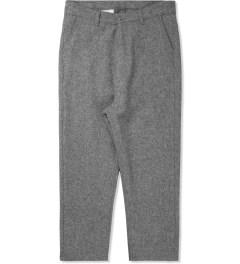 ami Grey Flannel Pants Picutre