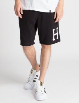 HUF Black Huf Classic H Fleece Shorts Picture