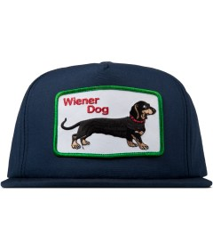 DOG LTD. Navy Wiener Dog Cap Picture
