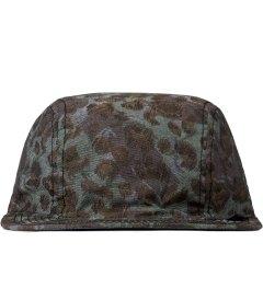 Stussy Olive Reversible Cheetah Camp Cap Picutre