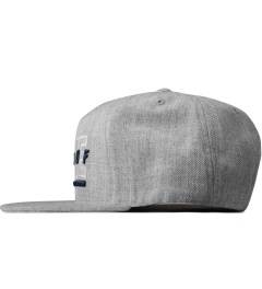 Hall of Fame Heather Patriot Snapback Cap Model Picture