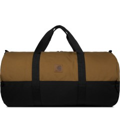 Carhartt WORK IN PROGRESS Hamilton Brown/Black Adams Duffle Bag Picutre