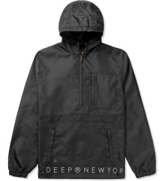 10.Deep Black Vintage Slicker Jacket Picutre
