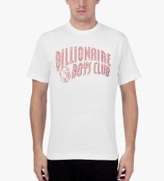 Billionaire Boys Club White S/S Milk & Sugar T-Shirt Model Picutre