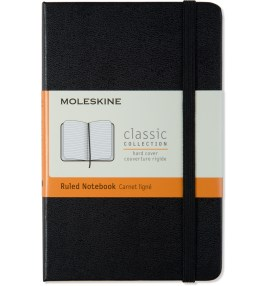 MOLESKINE Black Hard Cover Ruled Pocket Size Notebook Picture