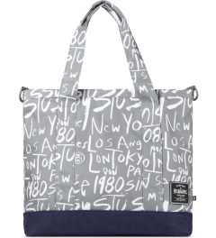 Stussy Grey Stussy x Herschel Supply Co. Cities Tote Bag Picutre