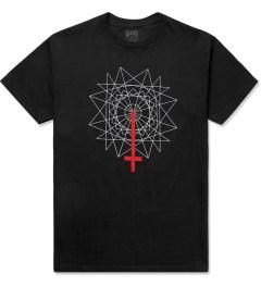 Black Scale Black Rose Cross T-Shirt Picture