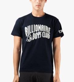 Billionaire Boys Club Navy YNKS T-Shirt Model Picutre