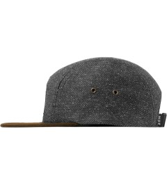 HUF Black Tweed Volley Cap Model Picutre