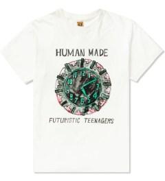 Human Made White Clock T-Shirt Picutre