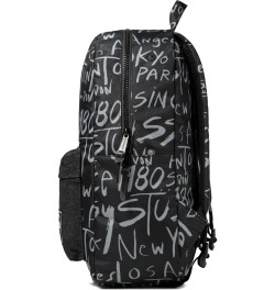 Stussy Black Print Stussy x Herschel Supply Co. Cities Backpack Model Picutre
