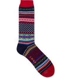 CHUP Red Skog Socks Picutre