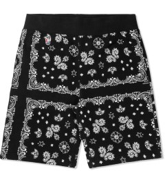 Undefeated Black Bandana Sweatshorts Picture