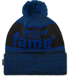 Hall of Fame Blue Bars & Hooks Beanie Picture