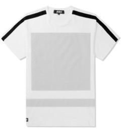 AMH White Reflective Block Panel T-Shirt Picutre