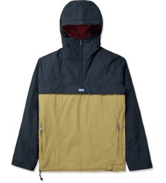 Penfield Navy/Tan ELK Pullover Hooded Anorak Picture