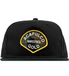 Acapulco Gold Black AG Narcotics Snapback Cap Picture