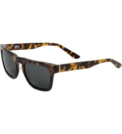 Stussy Tortoise/Fade/Black Louie Sunglasses Model Picture