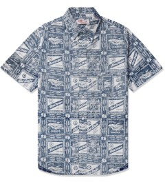 M.V.P. Beer Navy Corona S/S Shirt Picture