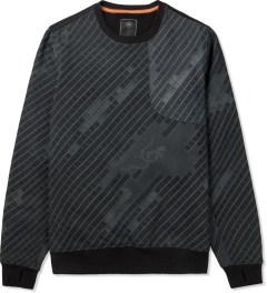 maharishi Night Camo Disruptive Asym Vent Crewneck Sweater Picture