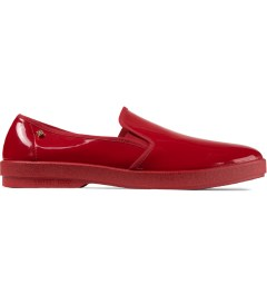 Rivieras Red Vinyl Slip-on Shoes Picutre