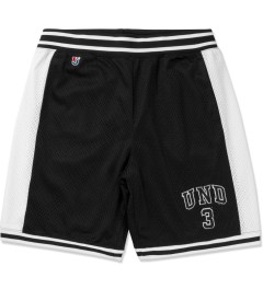 Undefeated Black UND 3 Mesh Shorts Picture