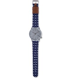 KOMONO Ping Pong Polkadot WINSTON PRINT WATCH Model Picture