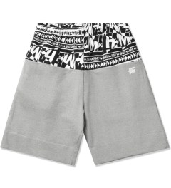 Hall of Fame Heather Grey Raider Shorts Picutre