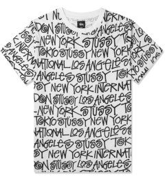 Stussy White Cities T-Shirt Picutre