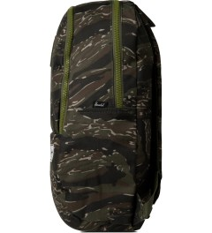 Herschel Supply Co. Tiger Camo/Army Rubber Nelson Backpack Model Picutre