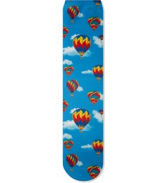 Odd Future Blue Hot Air Balloon Sublimated Socks Picture