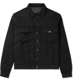 Naked & Famous Black Quilted Denim Jacket Picutre