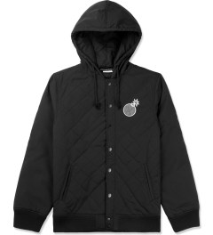 The Hundreds Black Tour Jacket Picutre