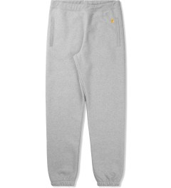 Carhartt WORK IN PROGRESS Heather Grey Chase Sweatpants Picutre