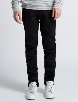 Naked & Famous Black Carbon Power Stretch Super Skinny Guy Jeans Picture
