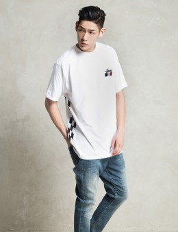Stussy White Stussy Stars T-Shirt Picture