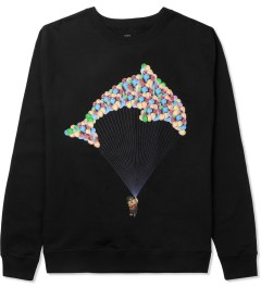 Odd Future Black Jasper Balloon Crewneck Sweater Picture