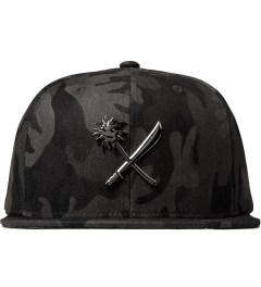 Us Versus Them Black Crosscut Full Metal Cap Picture
