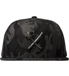 Us Versus Them Black Crosscut Full Metal Cap Picture