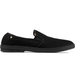 Rivieras Black Manoir Feutre Slip-On Shoes Picutre