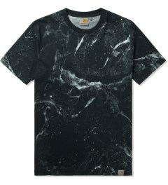 Carhartt WORK IN PROGRESS Black S/S Marble T-Shirt Picutre