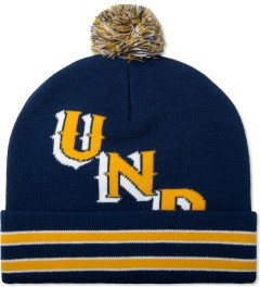 Undefeated Navy UND Pom Beanie Picture