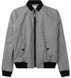 Band of Outsiders Grey Quilted Shirt Jacket Picture
